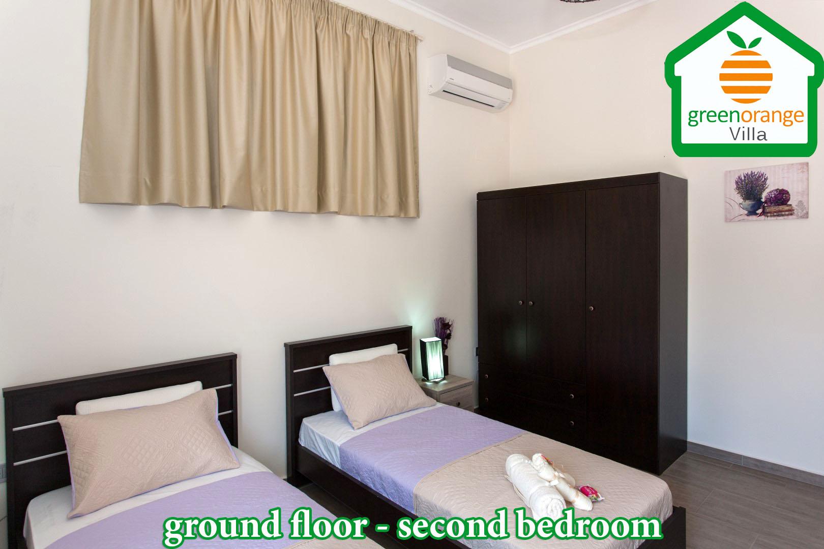 bedroom-ground-floor-2-green-orange-villa-chania-crete