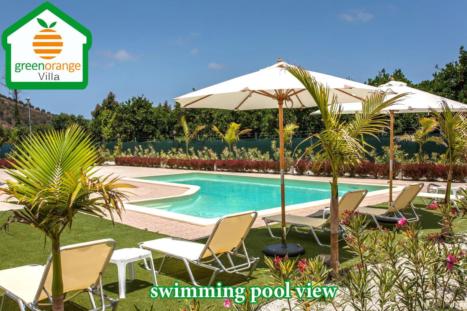 holiday home rental in Chania Crete Greece, Green orange villa farm